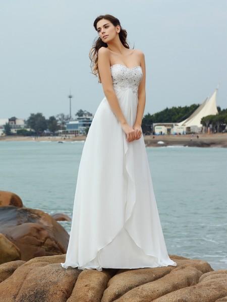 Vestidos para novia para playa