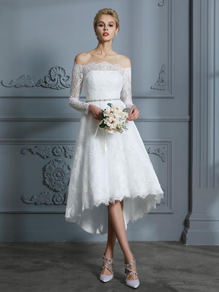 Vestidos de novia cortos de venta