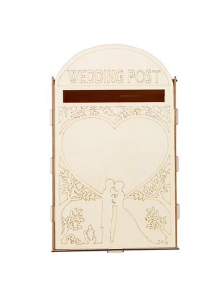 Buzón de madera de lujo para bodas