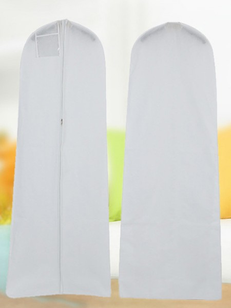 White Gown Length Garment Bags